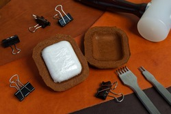 Wireless Earbuds Genuine Leather Case, High Quality Handmade from Genuine Leather.