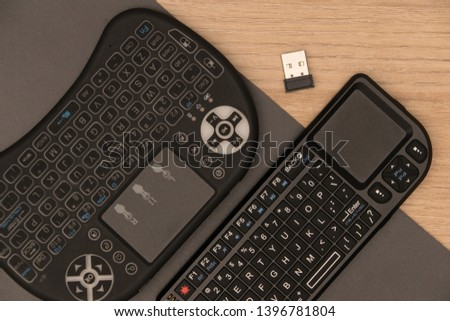 Wireless Mini Keyboards for PC, TV & Mobile #1396781804