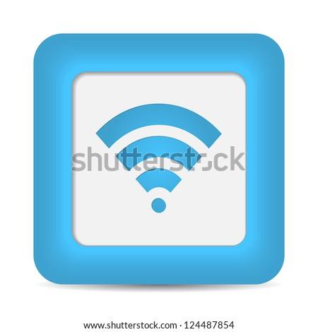 Wireless Network Symbol. - stock photo