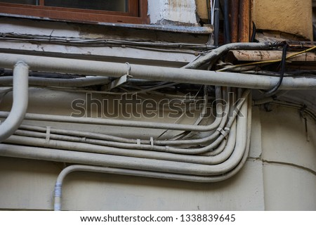 Brilliant Messy Telephone Wire In Box Images And Stock Photos Avopix Com Wiring 101 Capemaxxcnl