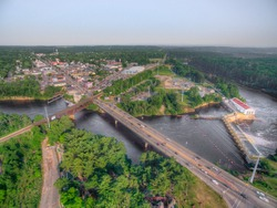 Wisconsin Dells is a major tourist attraction in the US state of Wisconsin