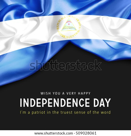 wish you a very happy nicaragua independence day i m a patriot in