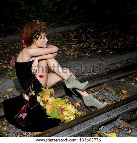 Witch on rails