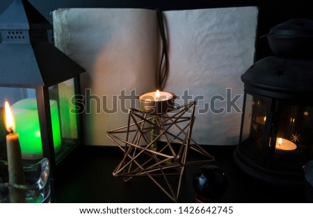Lantern-on-old-books Images and Stock Photos - Page: 3