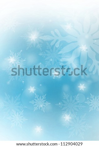 Witer background - stock photo