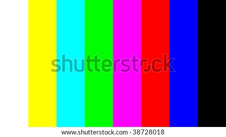 SMPTE Color Bars - Media College - Video, Audio and Multimedia