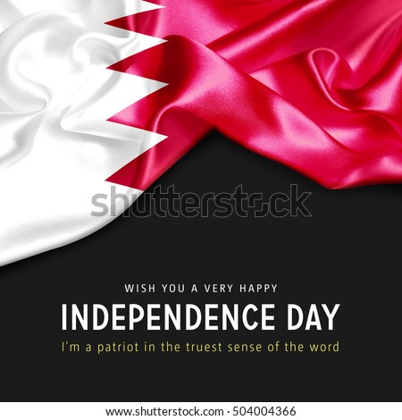 With you a Very Happy Bahrain Independence Day. I'm a Patriot in the truest sense of the word Photo stock ©