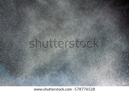 Within the cloud and falls. Drops, sprays, fog, boiling, bubbling, drizzle, aerosol, dispersion, moisture condensation, formation of rain. Hydrological cycle #578776528