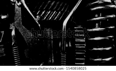 Within the mechanism.The mechanism inside the machine in the factory in the engine industry.