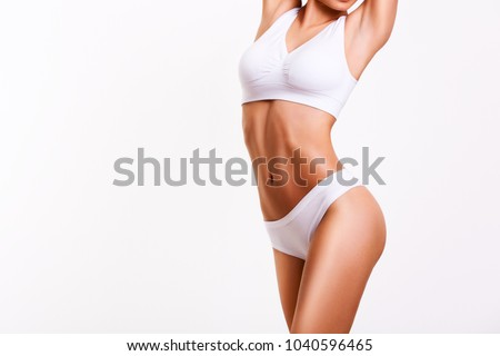 Woman beauty, body care.  - Shutterstock ID 1040596465