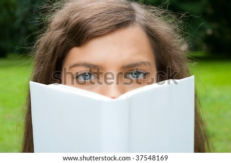 woman book reading