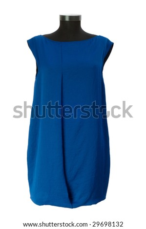 Woman clothing isolated on the white - stock photo
