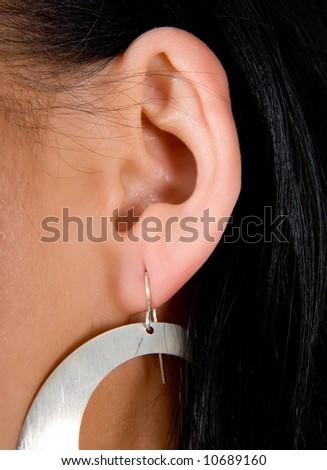 woman ears