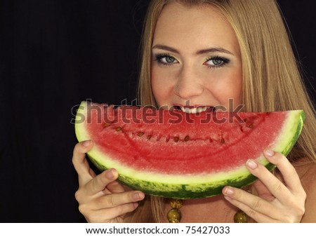 watermelon girl pics. Young sexy girl