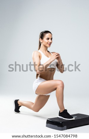 woman exercising workout fitness aerobic exercise