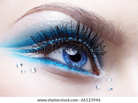 Exotic Copper Eye Makeup - Party Makeup Ideas Pictures