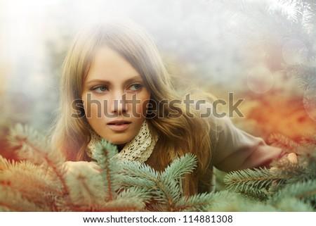 Woman, fashion beauty - desire