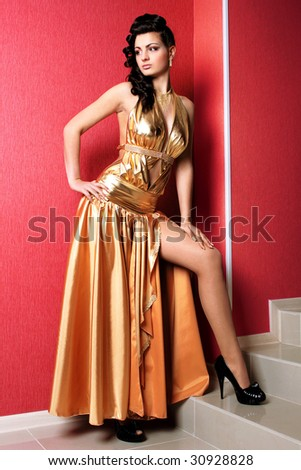 woman fashion model cool person nice clothes