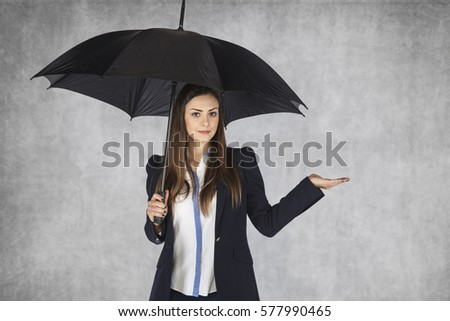 woman from insurance company #577990465