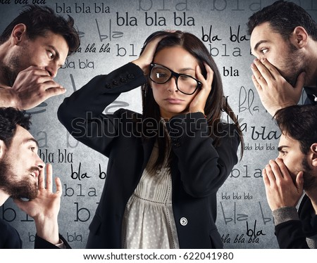 Shutterstock Woman from too much chatter