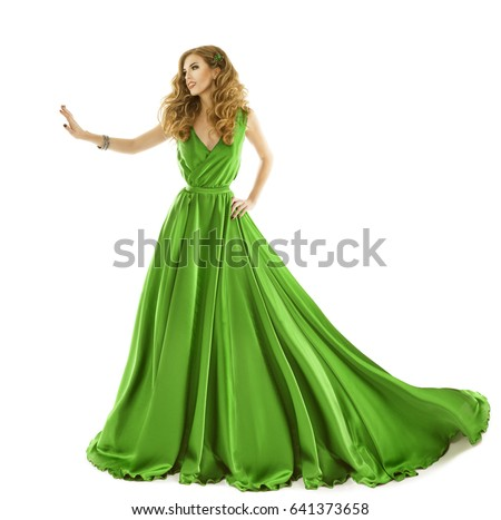 79def6e8c Free photos Woman in green dress