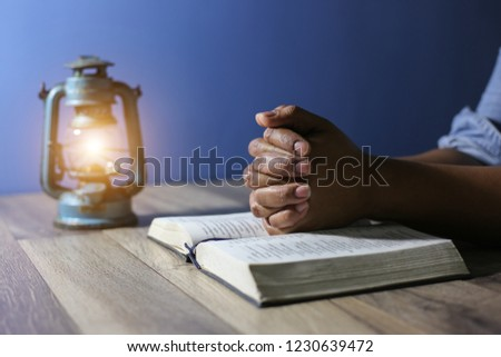 Free Photos Hands Of Old Woman With Bible On Table And Dark