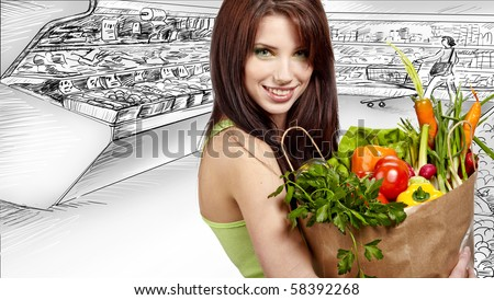 http://image.shutterstock.com/display_pic_with_logo/71188/71188,1280870888,1/stock-photo-woman-holding-a-bag-full-of-healthy-food-shopping-in-mall-58392268.jpg