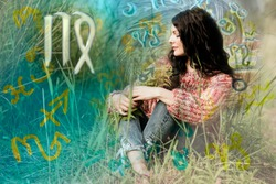 Woman in astrology world ,Virgo zodiac sign