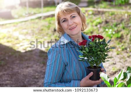 Aged flowers mature