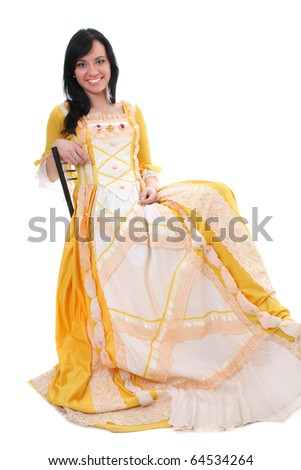 mediville yellow wedding dress