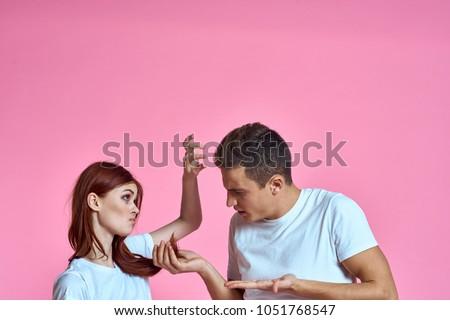 woman, man, hair loss                             #1051768547