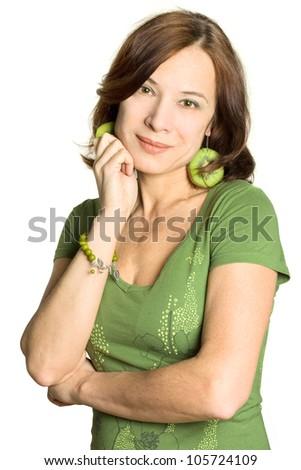 Woman - mature beauty, 40s