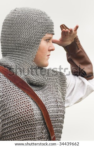 woman / medieval armor / historical story #34439662