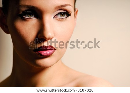woman portrait beauty in nature beautiful eyes natural
