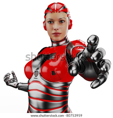 Woman robot stock photo 80753959 shutterstock