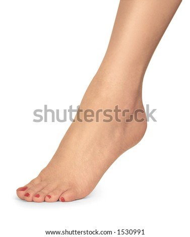 woman's foot