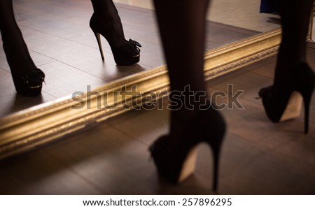 Shoe fetish Leg