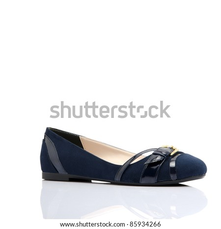 woman shoe isolated background