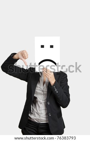 Thumbs down icon  negative icon  Images and Stock Photos
