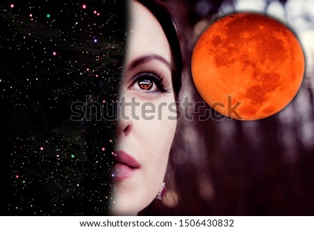 Woman Space and the Mysterious Full Moon