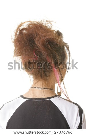 hairstyle. punk. stylish. vertical