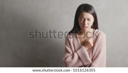 Woman suffer from heart attack