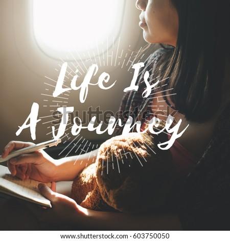 Woman travel leisure holiday destination  #603750050