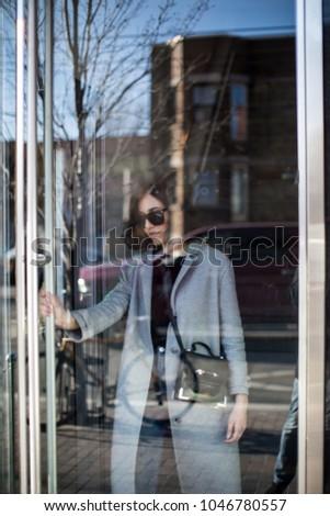 Free Photos Woman Leaving Through The Door Avopix