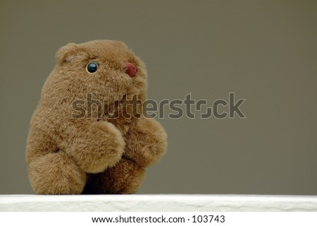 stock photo wombat soft toy 103743 Blogshop product photography