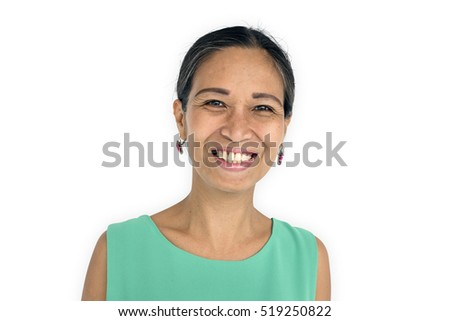Women Adult Smile Latin American Concept