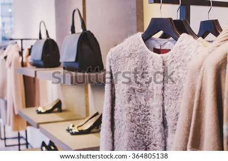 Shutterstock Women clothing shop