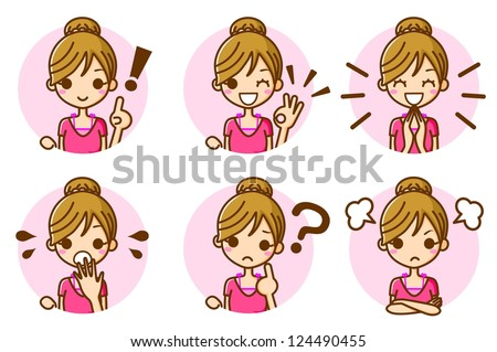 Women expression