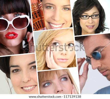 women facial expressions