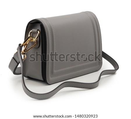 women handbag isolated on white background
